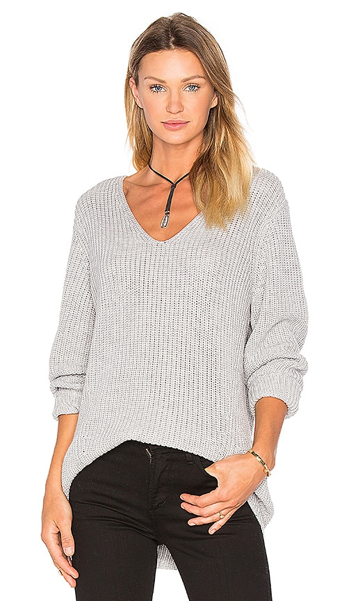 Willa Slouchy V-Neck Sweater