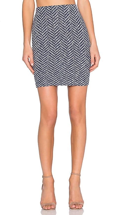 three dots Gretchen Mini Skirt in Night Iris