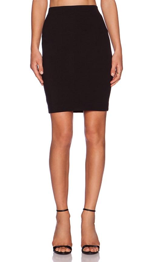 three dots Pencil Skirt in Black