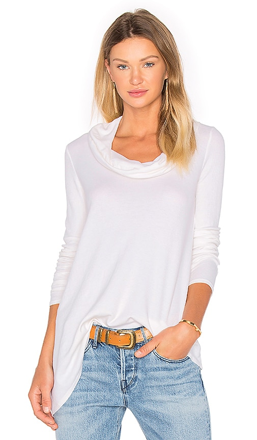 three dots Autumn Tunic in White