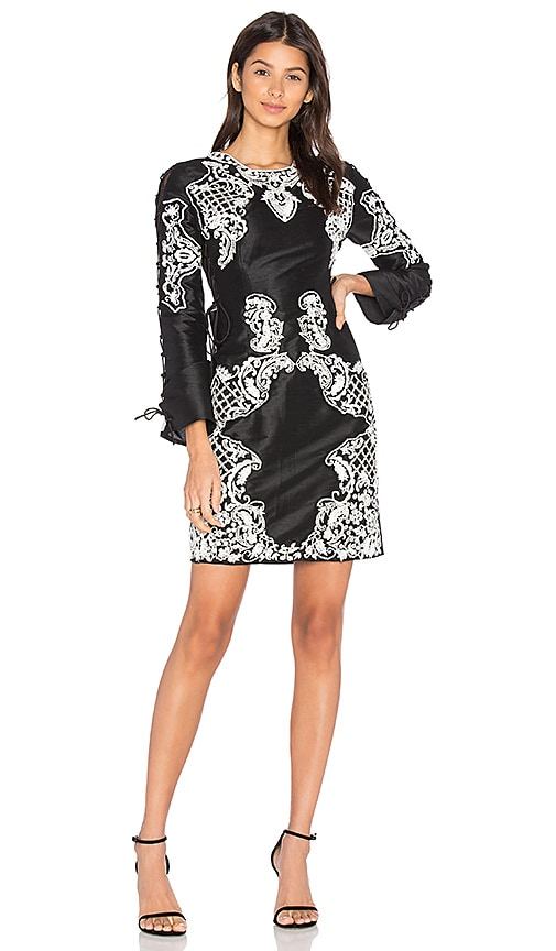 THURLEY Mirage Dress in Black