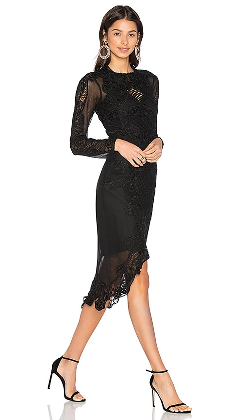 THURLEY Tribute Dress in Black