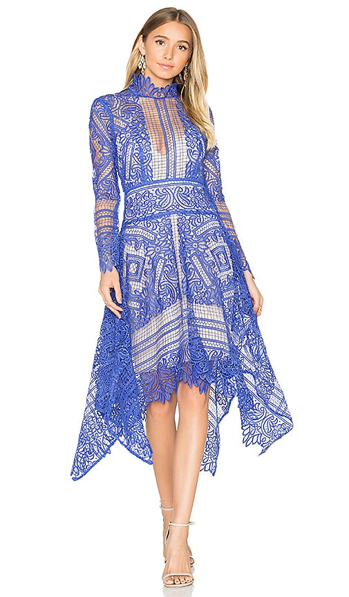 THURLEY Maldives Mini Dress in Blue