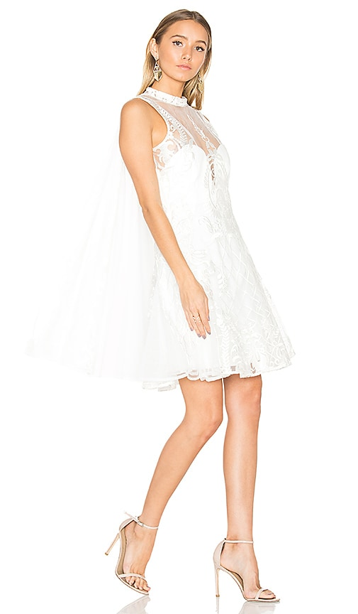 THURLEY Imperial Mini Dress in White