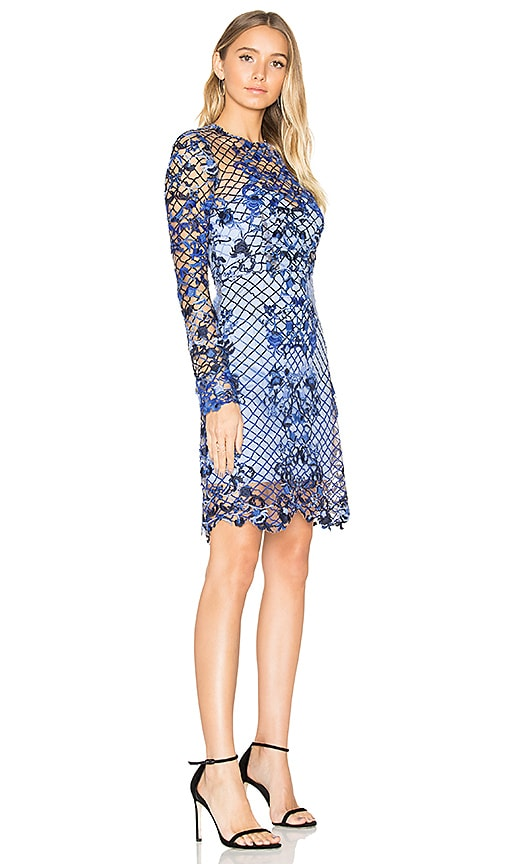 THURLEY Rossellini Mini Dress in Blue