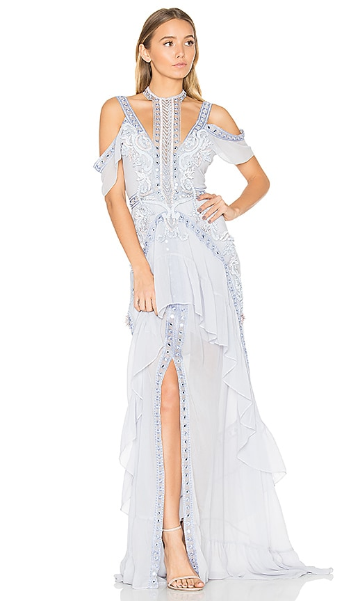 THURLEY Atlantis Rises Gown in Blue