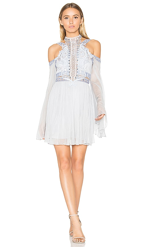 d8e7f1e407 THURLEY Athena Dress in Aegean