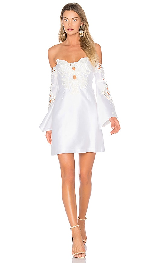 THURLEY Helena Dress in White