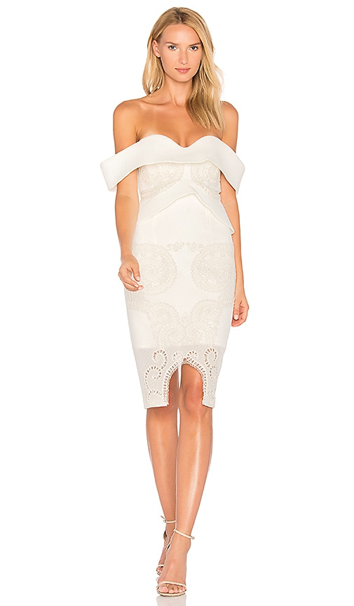 THURLEY Opera Dress in White