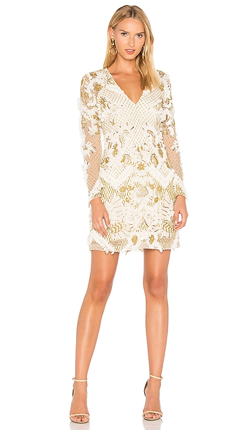 THURLEY Vivaldi Mini Dress in White
