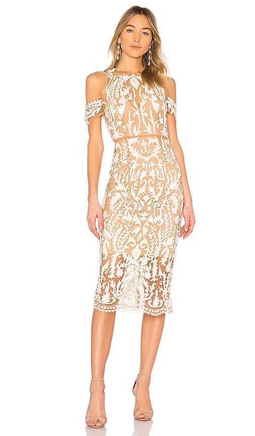 THURLEY Jasmine Dress in White