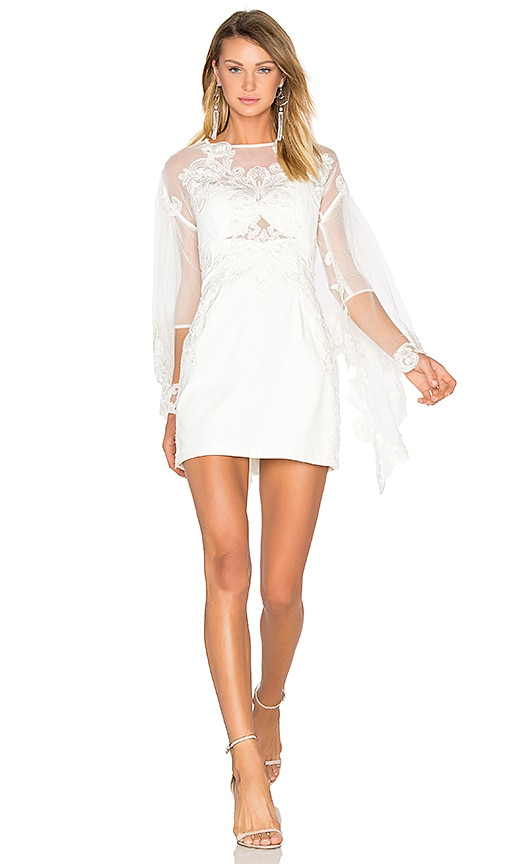 THURLEY Melody Dress in White