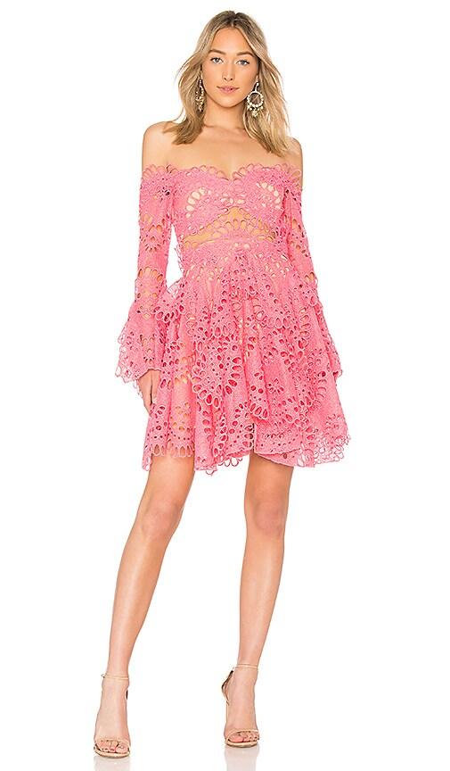 THURLEY Scorpio Dress in Fuchsia