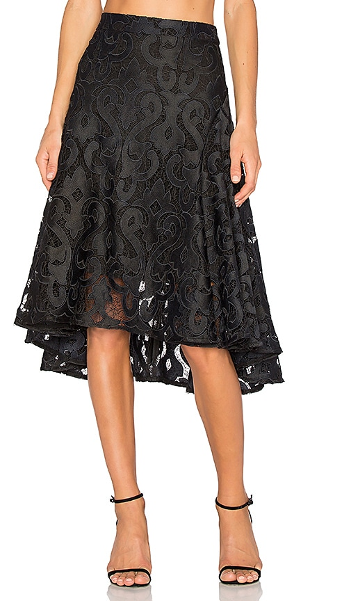 THURLEY Baroque Beauty Skirt in Black