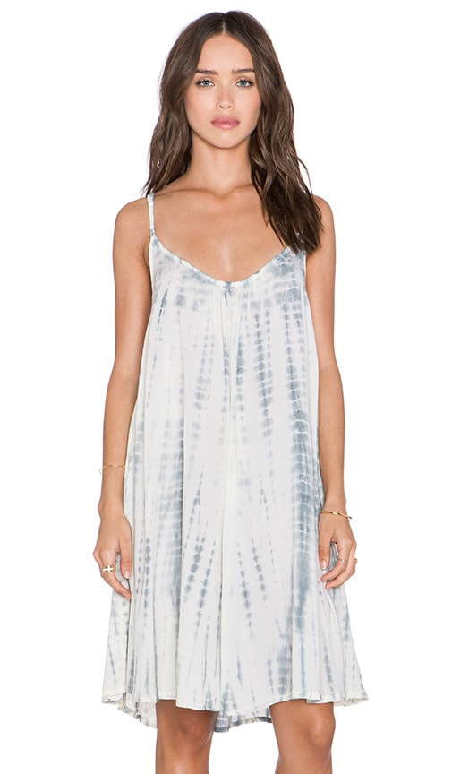 Tiare Hawaii Luau Dress in Cream & Sabia Tie Dye