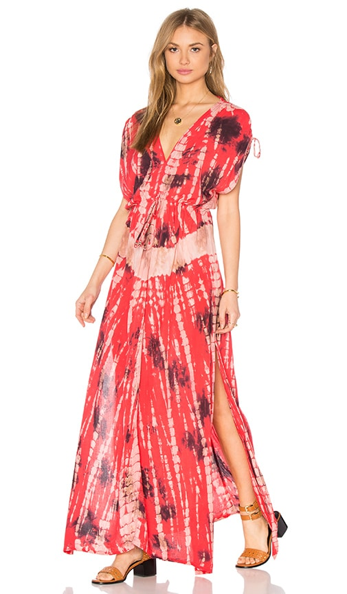 Tiare Hawaii Audrey Dress in Red