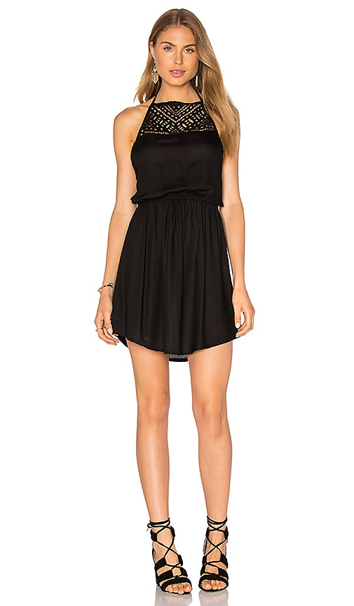 Tiare Hawaii Carmelia Dress in Black