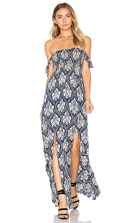 Tiare Hawaii Hollie Maxi Dress in Blue
