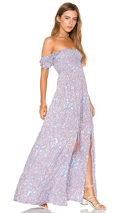 Tiare Hawaii Hollie Maxi Dress in Slate