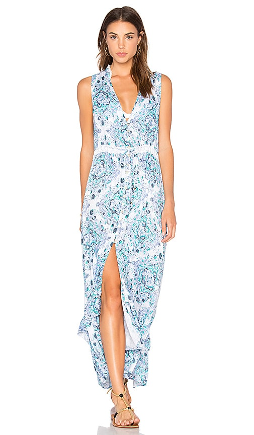 Tiare Hawaii Heaven Dress in Blue