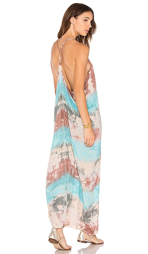 Tiare Hawaii Kalapana Dress in Blue