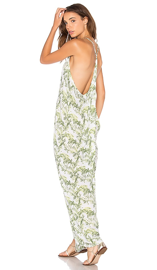 Tiare Hawaii Kalapana Dress in Green