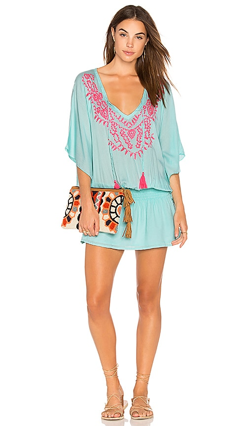 Tiare Hawaii Margarita Dress in Teal