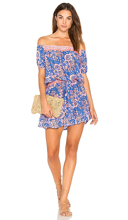 Tiare Hawaii Wonderland Dress in Blue