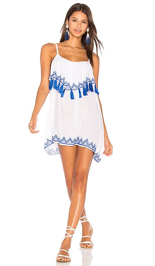 Tiare Hawaii Holter Mini Dress in White