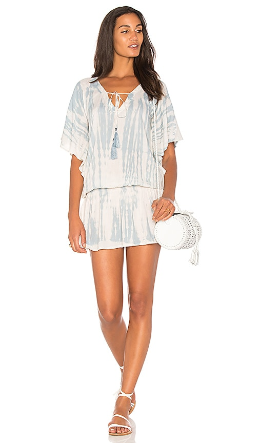 Tiare Hawaii Jimbaran Mini Dress in Baby Blue