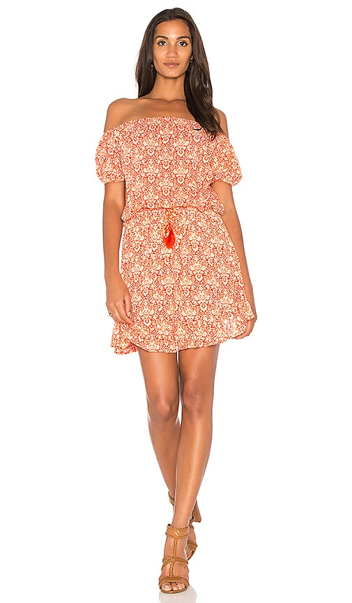 Tiare Hawaii Wonderland Dress in Red