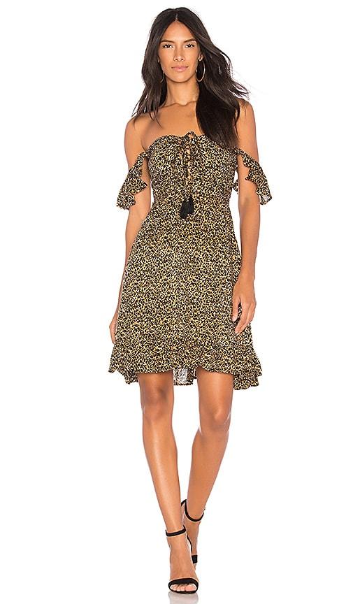 Tiare Hawaii Oasis Short Dress in Tan