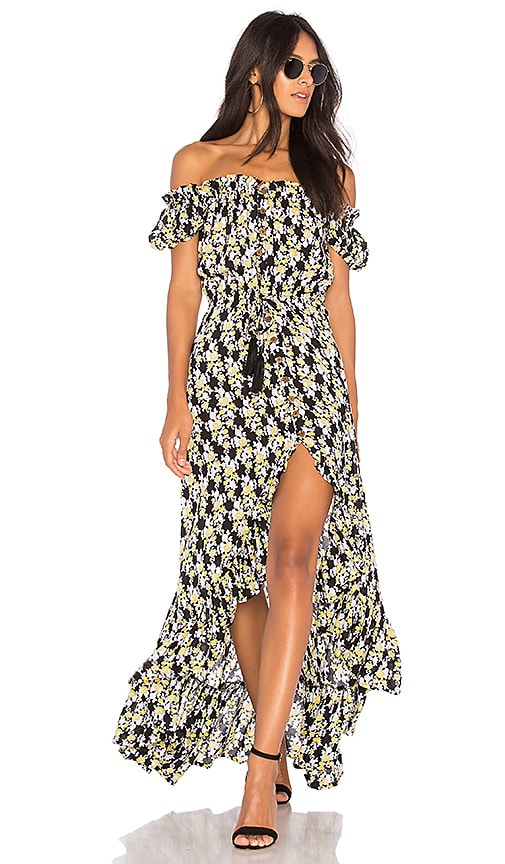 Tiare Hawaii Riviera Dress in Black