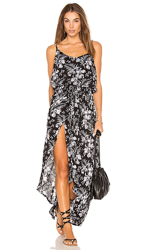 Tiare Hawaii Dune Maxi Dress in Black