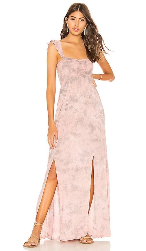 Tiare Hawaii Hollie Maxi Dress in Rose