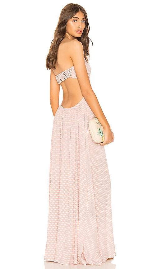 Tiare Hawaii Kai Maxi Dress in Blush