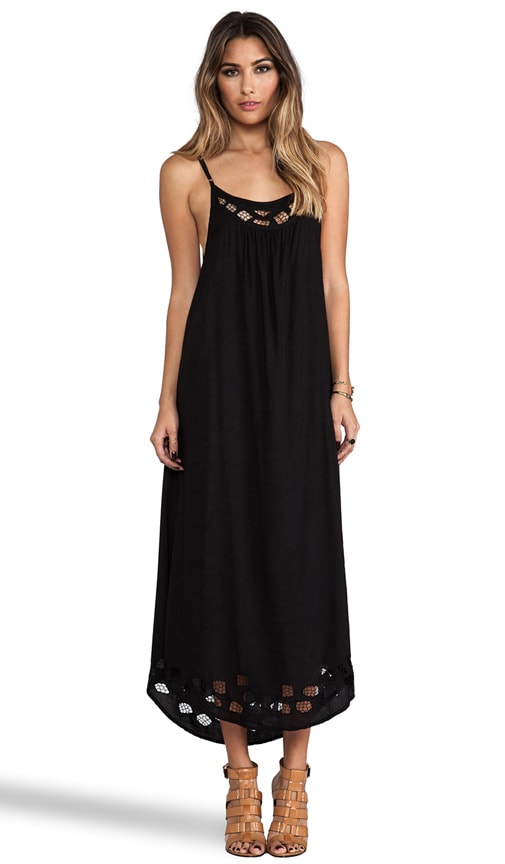Santorini Lace Yoke Maxi Dress