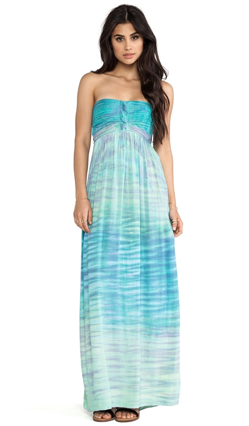 Jasmine Strapless Maxi Dress