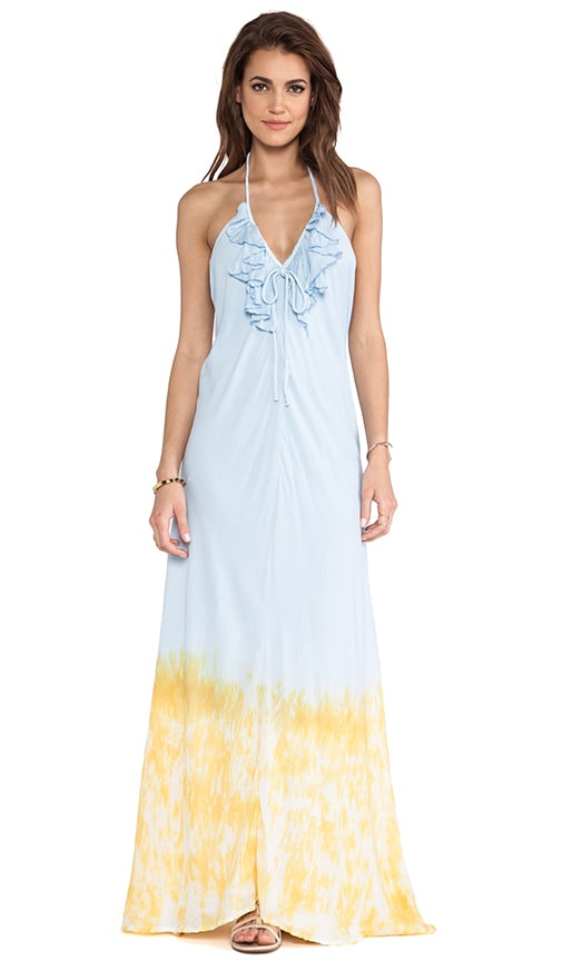 Aries Deep Sea Maxi Dress