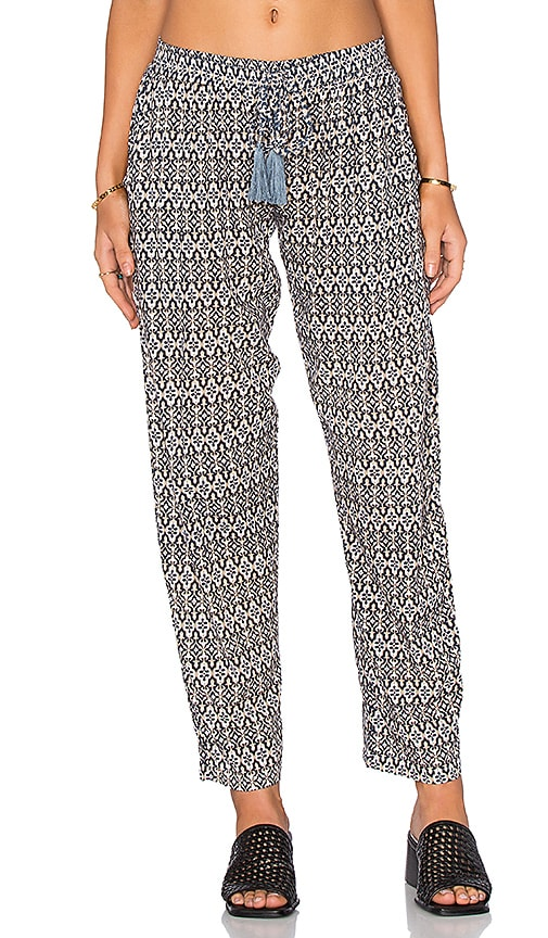 Tiare Hawaii Piper Pant in Marks Grey & Navy