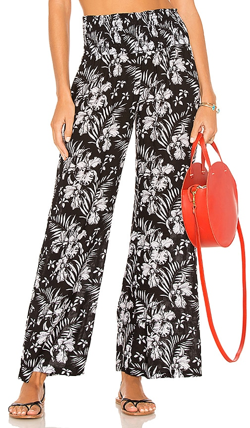 Tiare Hawaii Pipeline Pants in Black