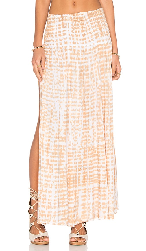 Tiare Hawaii Rock Your Gypsy Soul Skirt in Raffa & Skin & White