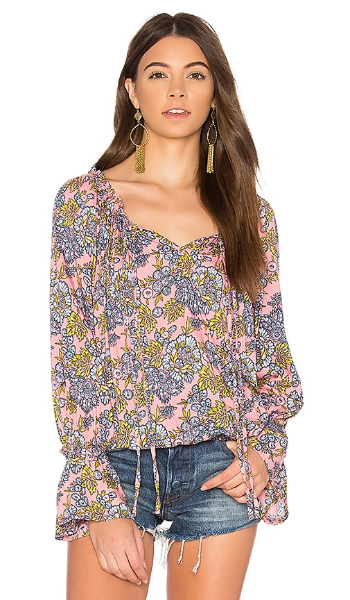 Tiare Hawaii Eli Top in Pink