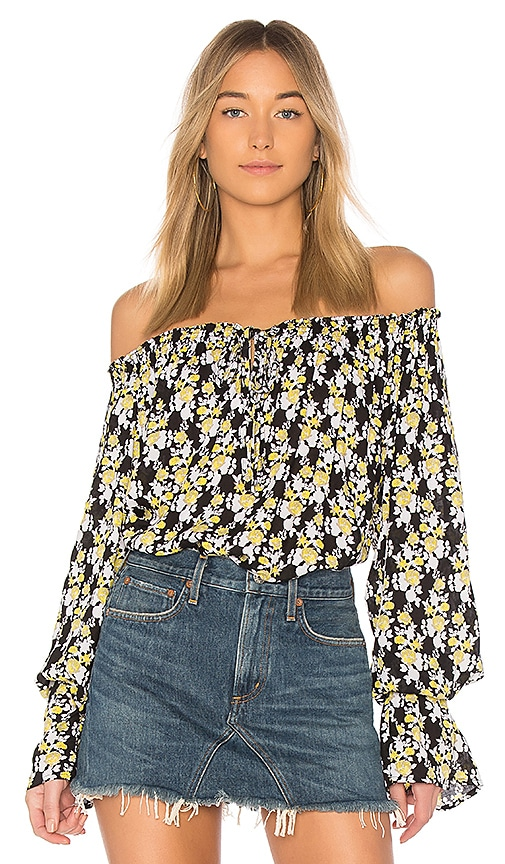 Tiare Hawaii Eli Top in Black