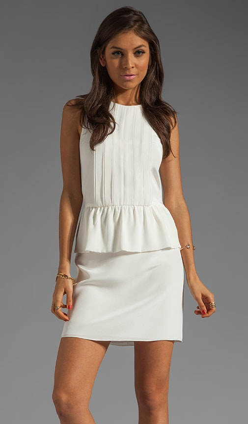 Pearl Peplum Dress