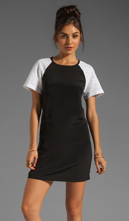 Carey Embroidery Shift Dress
