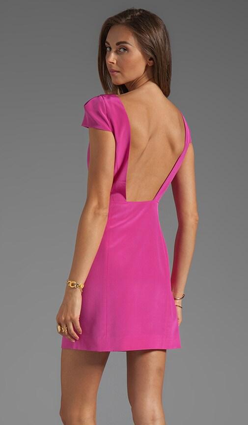 Silk Cap Sleeve Dress