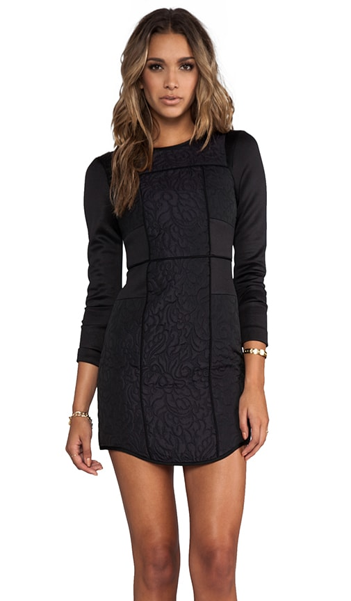 Katrin Paneled Fitted Dress