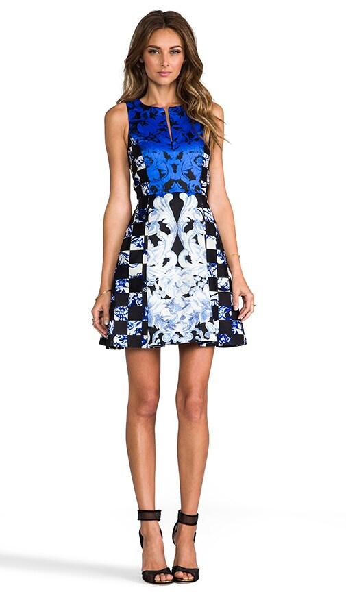 Rococo Check Dress