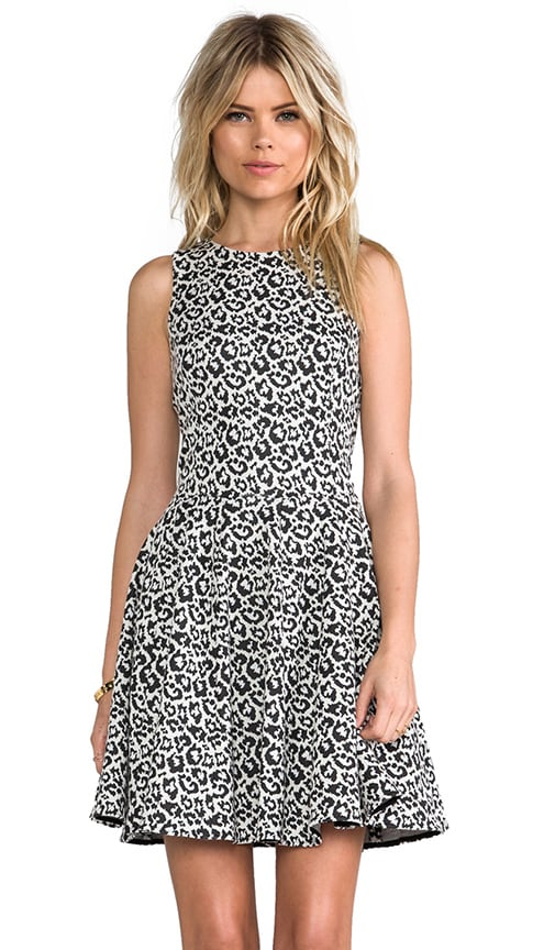 Leopard Knit Dress